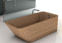 Stand Alone Ply Wood Bathtub